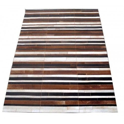 Patchworkowy dywan ze skóry...