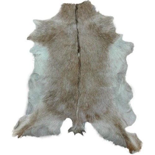 Natural Goat Hide Area Rug...