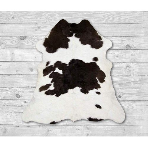 Calf Hide Area Rug 37x31 in