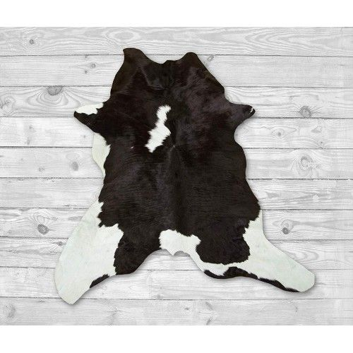 Calf Hide Area Rug 41x35 in