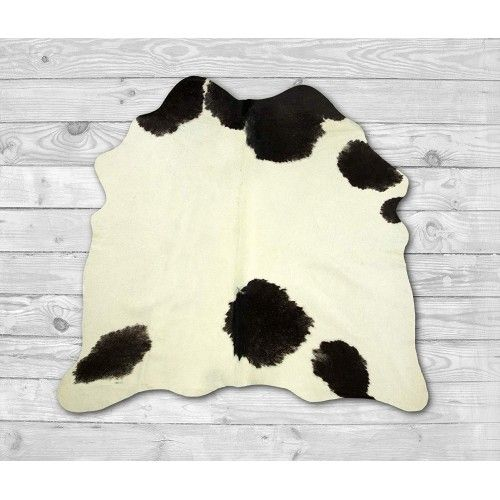 Cowhide Area Rug 55x53 in