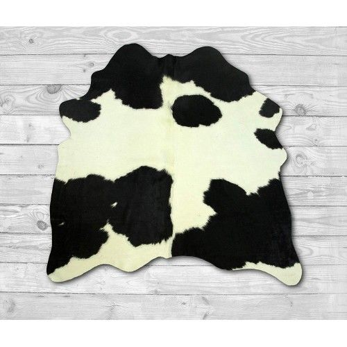 Cowhide Area Rug 57x53 in