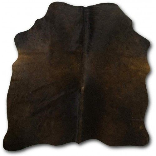 Cowhide Area Rug 49x43 in