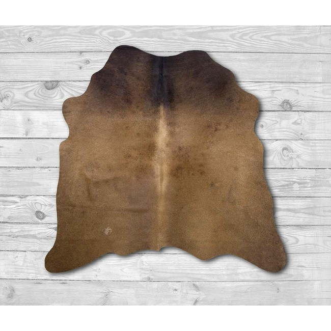 Premium Natural Cowhide Area Rug 55x51 inches-1