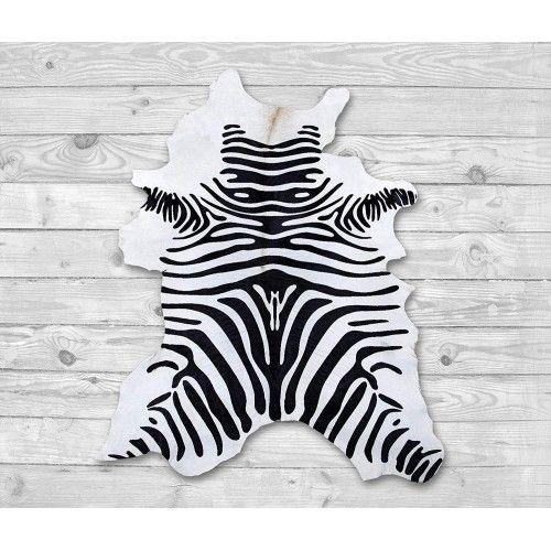 Cowhide Area Rug as Zebra...