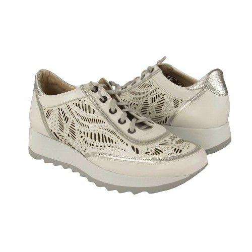 Sneakers de piel...