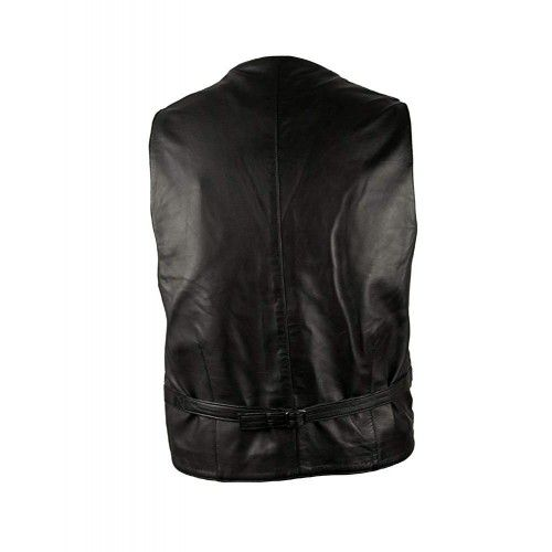 Leather Waistcoat for Men,...