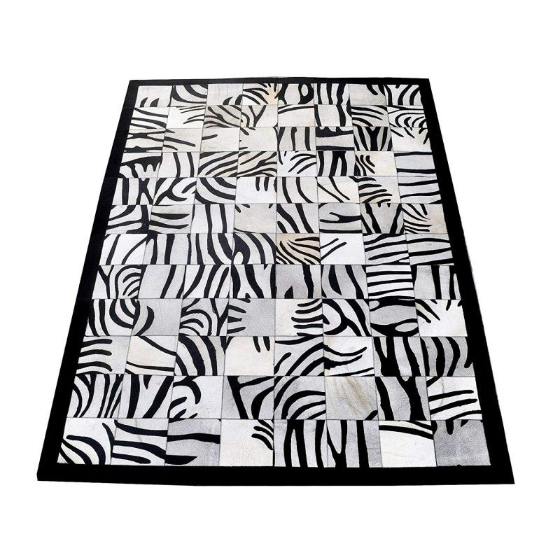 Cowhide Area Rug, 66x94, Area Rugs for Living Room, Natural Carpet