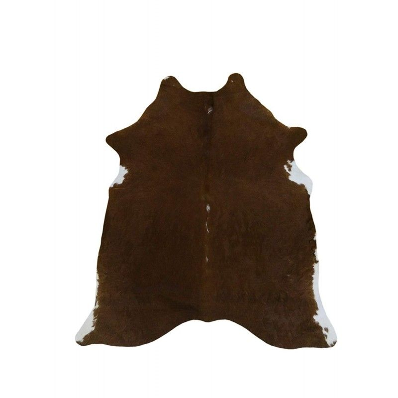 Cowhide Area Rug, 74x61 in, Area Rug Living Room, Natural Carpets