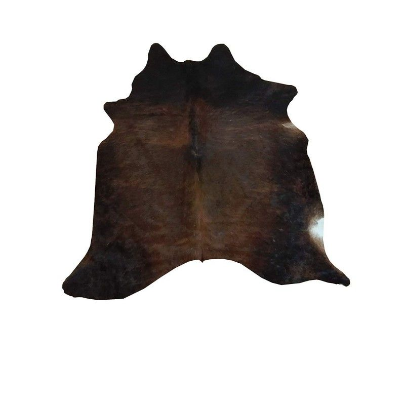 Cowhide Area Rug, 62x62 in, Area Rug Living Room, Natural Carpets