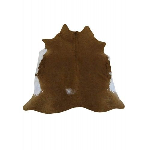 Cowhide Area Rug, 74x70 in,...