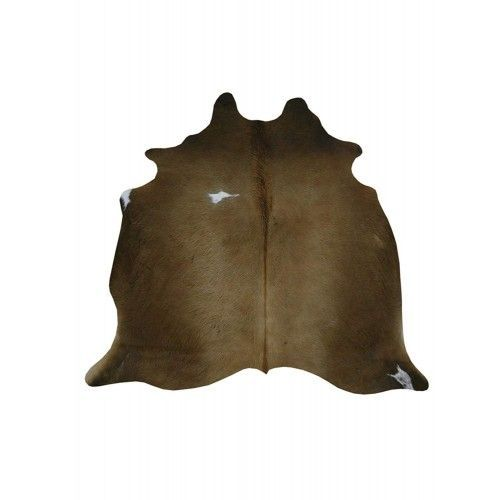 Cowhide Area Rug, 72x64 in,...