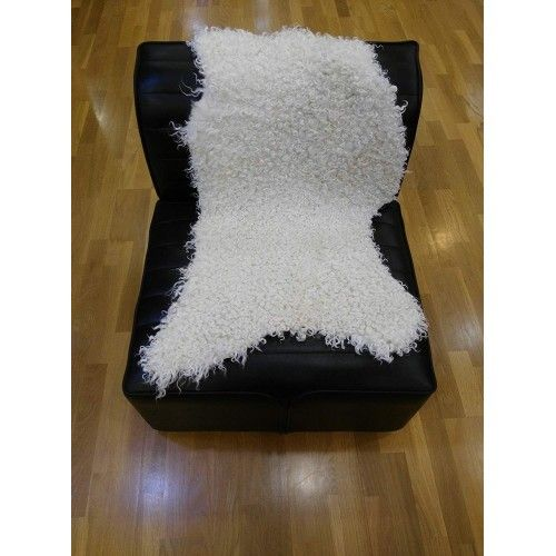 Goat Area Rug, 31x55 in,...