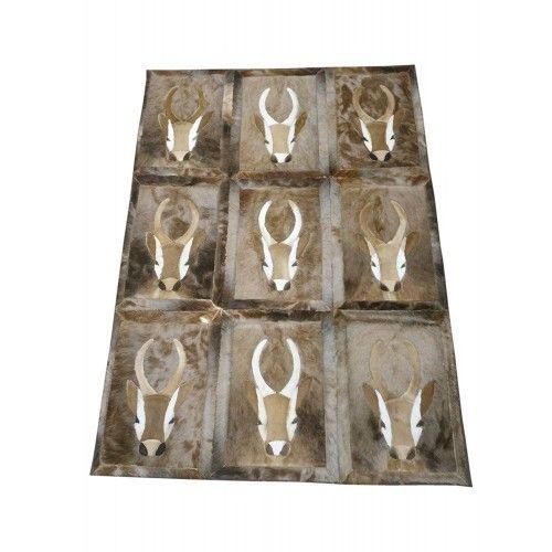 Gazelle Area Rug, 62x45 in,...