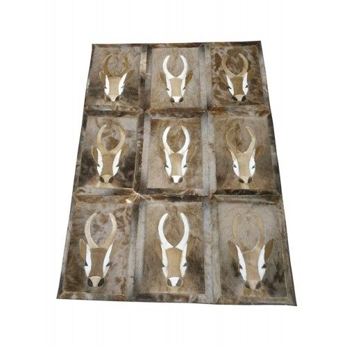 Gazelle Area Rug, 62x45 in,...