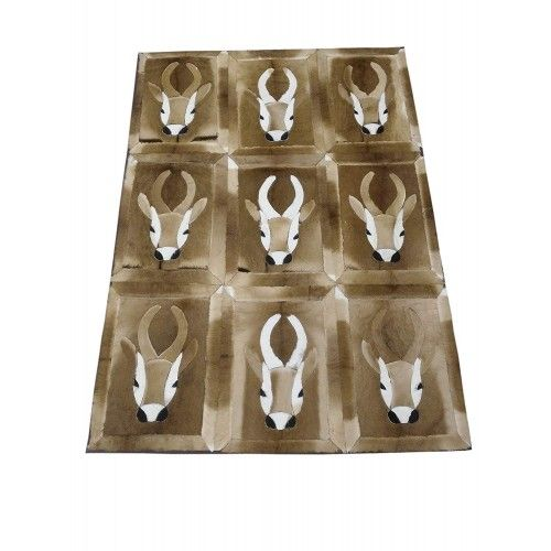 Gazelle Area Rug, 64x47 in,...