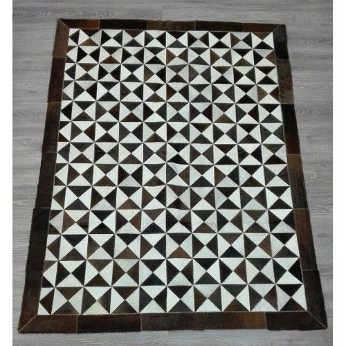 Cowhide Area Rug Patchwork,...