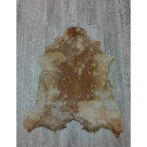 Goat Area Rug, 35x33 in,...