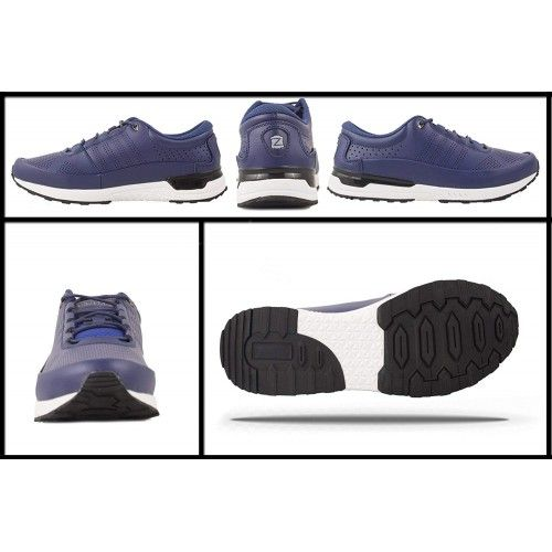Lace-up golf leather shoes