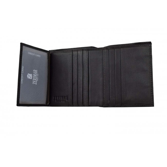 Leather Wallet for Men, Leather Wallet with Coin Pocket, Men Wallet 8