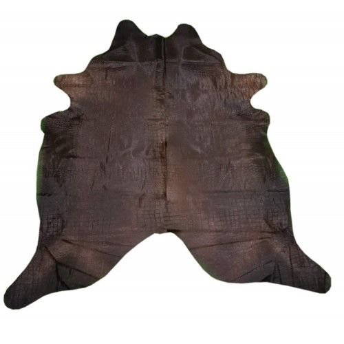 Cowhide Area Rug, 86x90 in,...