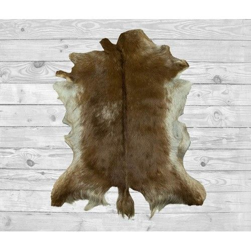 Goat Area Rug 39x23 in,...