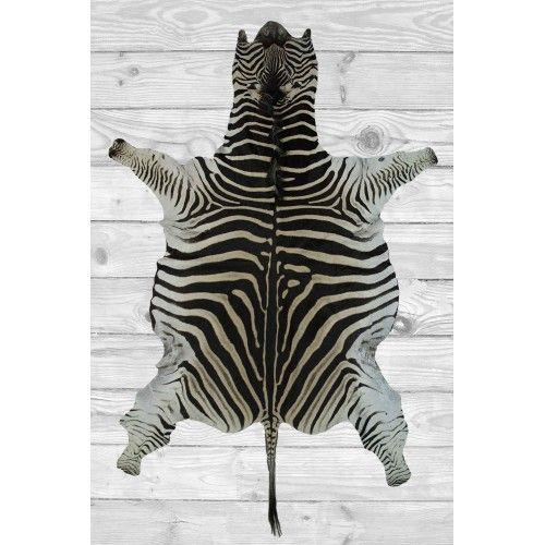 Zerimar Zebra Area Rug,...