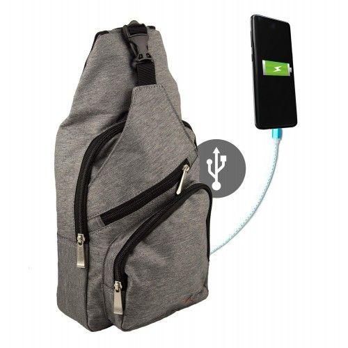 USB Shoulder Bag, USB...
