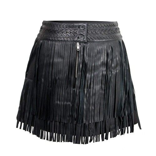 Leather Skirt Women,...