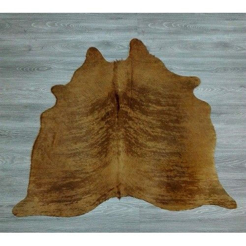 Cowhide Area Rug, 53x59 in,...