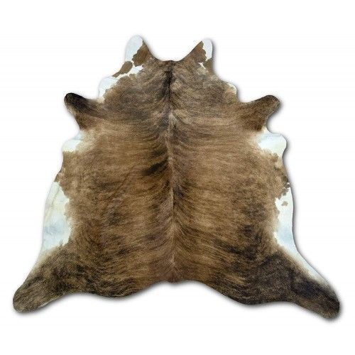 Cowhide Area Rug, 88x82 in,...
