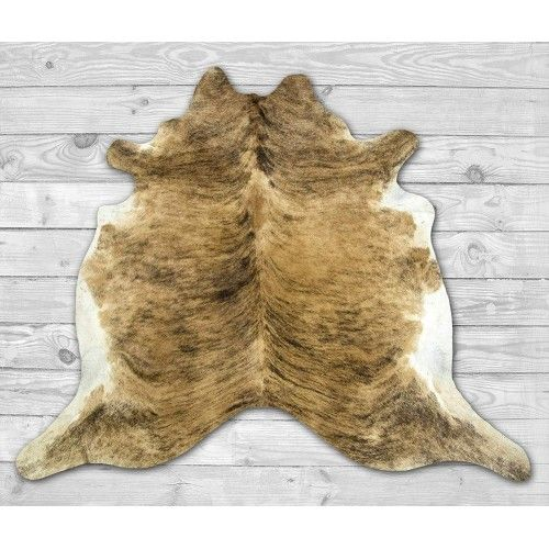 Cowhide Area Rug, 82x86 in,...