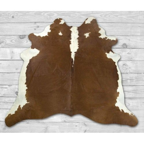 Cowhide Area Rug 82x80 in,...