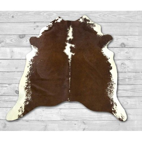 Cowhide Area Rug 84x74 in,...