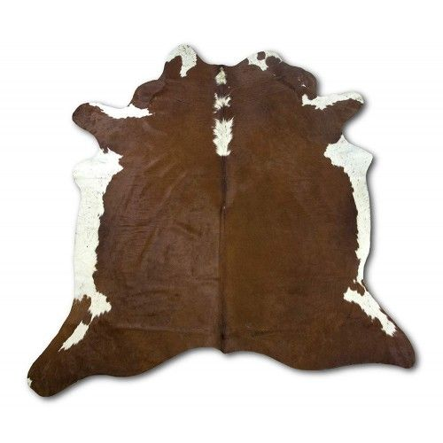 Cowhide Area Rug 84x76 in,...