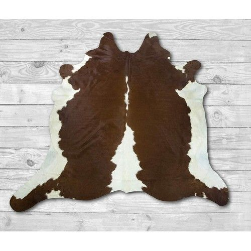 Cowhide Area Rug 84x86 in,...