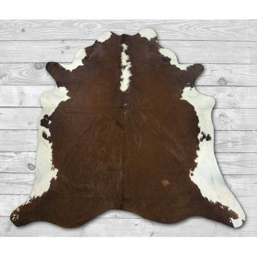 Cowhide Area Rug 80x80 in,...