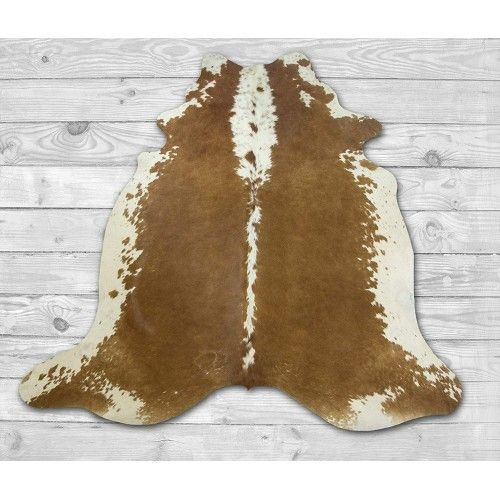 Cowhide Area Rug 86x82 in,...