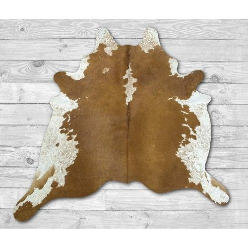 Cowhide Area Rug 92x82 in,...