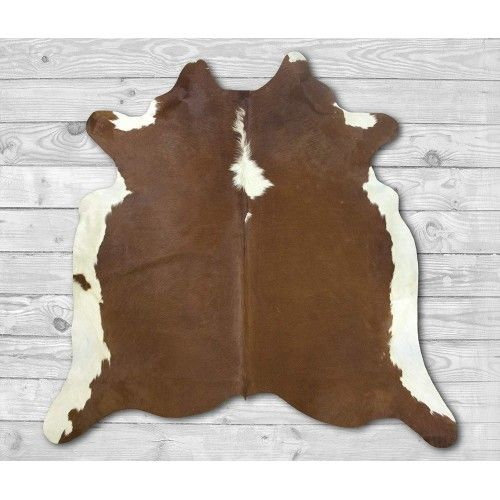 Cowhide Area Rug 80x76 in,...