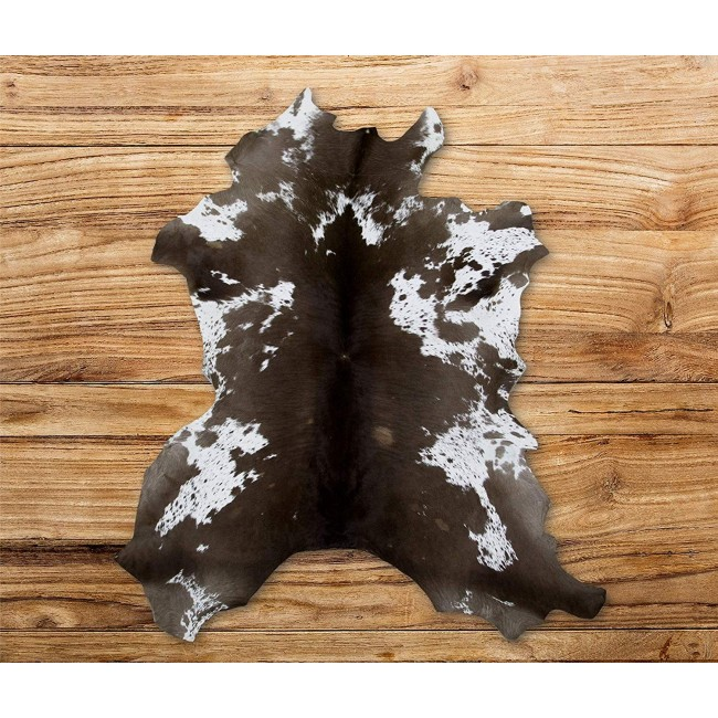 Cowhide Area Rug 41x33 in, Carpet Decoration, DIY and Crafts Leather