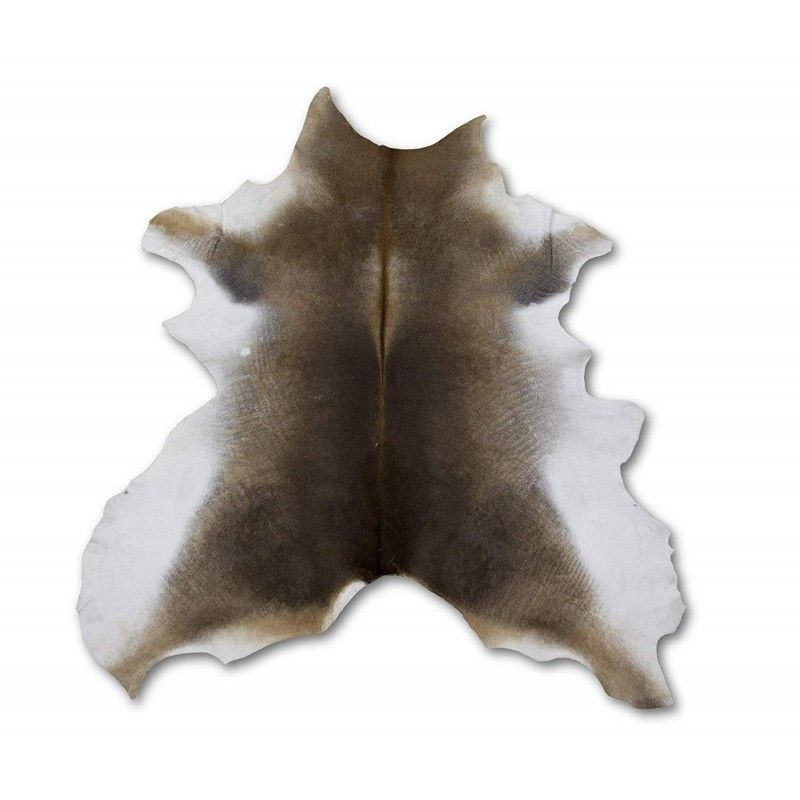 Cowhide Area Rug 49x39 in, Carpet Decoration, DIY and Crafts Leather 1