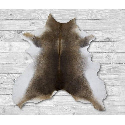 Cowhide Area Rug 49x39 in,...