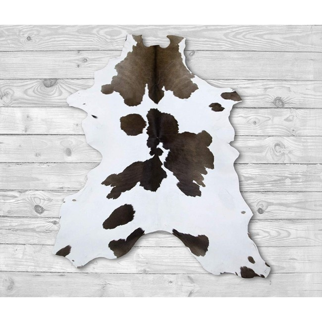 Cowhide Area Rug 49x33 in, Carpet Decoration, DIY and Crafts Leather 1