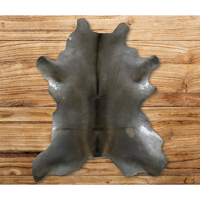 Cowhide Area Rug 47x35 in, Carpet Decoration, DIY and Crafts Leather 4