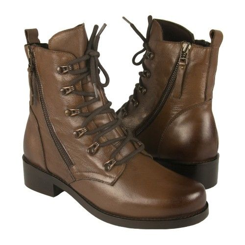 Military style boots with...