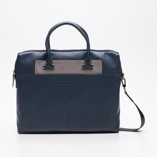 Two-color briefcase with...
