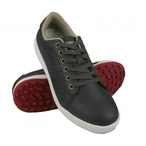 Golf leather sports shoes