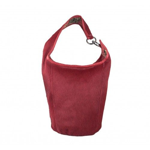 Natural leather CUBO bag...