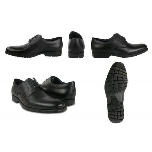 Zapato negro cómodo básico...